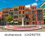 Old Colorful Houses In The...