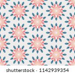 vector seamless pattern with... | Shutterstock .eps vector #1142939354