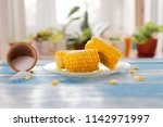Delicious Boiled Corn On A...