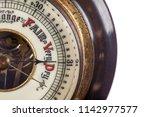 heat wave. very dry weather... | Shutterstock . vector #1142977577