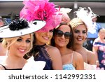 a group of fashionable well... | Shutterstock . vector #1142992331