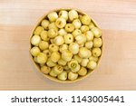 lotus seed  lotus nut   roasted ... | Shutterstock . vector #1143005441