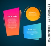 style text templates speed... | Shutterstock .eps vector #1143006281