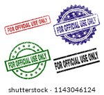 for official use only seal...   Shutterstock .eps vector #1143046124
