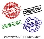 editorial only seal prints with ... | Shutterstock .eps vector #1143046304