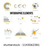 business info visualisation... | Shutterstock .eps vector #1143062381