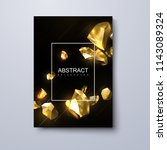 abstract trendy cover design.... | Shutterstock .eps vector #1143089324