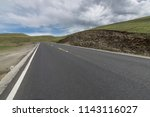 wild field highway  | Shutterstock . vector #1143116027