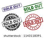 sold out seal prints with... | Shutterstock .eps vector #1143118391