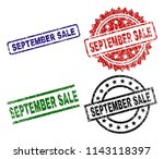 september sale seal prints with ... | Shutterstock .eps vector #1143118397