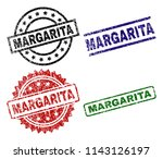 margarita seal stamps with... | Shutterstock .eps vector #1143126197