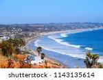 Malibu Beach Coastline In...