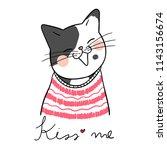 vector illustration character... | Shutterstock .eps vector #1143156674