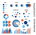 modern data visualisation... | Shutterstock .eps vector #1143169541