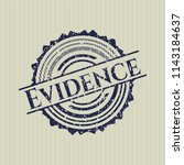 blue evidence distressed rubber ...   Shutterstock .eps vector #1143184637