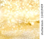 decorative gold background with ... | Shutterstock . vector #114319459