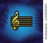 music violin clef sign. g clef. ...   Shutterstock .eps vector #1143205247