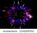 explosion background... | Shutterstock . vector #1143209531