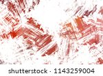 brushed painted abstract... | Shutterstock . vector #1143259004