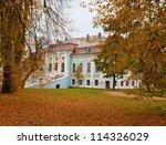 Manor In Autumn  Hmelita ...
