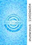 client testimonials sky blue...   Shutterstock .eps vector #1143266354