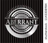 aberrant silvery shiny emblem   Shutterstock .eps vector #1143308984