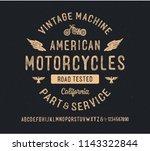 """american motorcycles""....   Shutterstock .eps vector #1143322844"