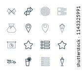 ui icon. collection of 16 ui...