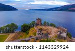 Urquhart Castle And Loch Ness...