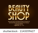 vector logotype with text... | Shutterstock .eps vector #1143359627