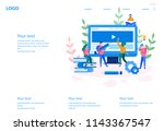 concept web design development  ...
