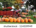 Autumn Pumpkins And Autumn...