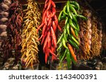 Dried Red And Green Chili...