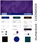 dark blue  red vector material...