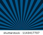 blue abstract sun rays vector... | Shutterstock .eps vector #1143417707