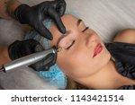 fibroblast  plasmalifting... | Shutterstock . vector #1143421514