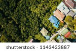 aerial view of looking down of... | Shutterstock . vector #1143423887