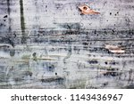cracked damaged paint on wood... | Shutterstock . vector #1143436967