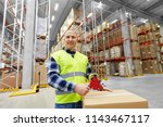 logistic business  shipment and ... | Shutterstock . vector #1143467117