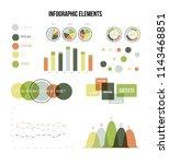 infographic elements  report...   Shutterstock .eps vector #1143468851
