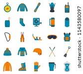 snowboarding equipment ski...