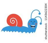 vector cute vector illustration ... | Shutterstock .eps vector #1143622304