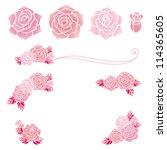 rose | Shutterstock .eps vector #114365605