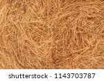background of a haystack. straw ... | Shutterstock . vector #1143703787