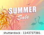 summer sale poster background....