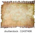 old vintage filmstrip on a... | Shutterstock . vector #11437408