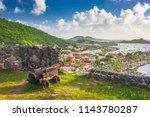 marigot  saint martin town... | Shutterstock . vector #1143780287