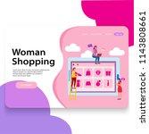 landing page woman shop...