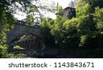 bridge in meran  italy | Shutterstock . vector #1143843671