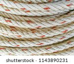 a close up image of white with... | Shutterstock . vector #1143890231